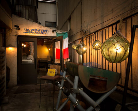 イタリアン食堂 デザート 六本木 東京 おすすめ 牡蠣食べ放題