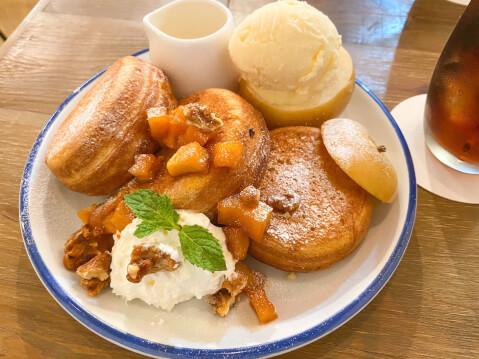 丸ごとりんごパンケーキ 池袋パンケーキカフェ DIORAMA CAFE ジオラマ 西口 おすすめ