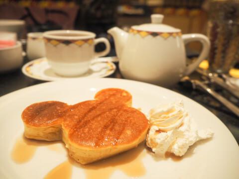 アンバサダーホテル シェフミッキー パンケーキ ミッキー型