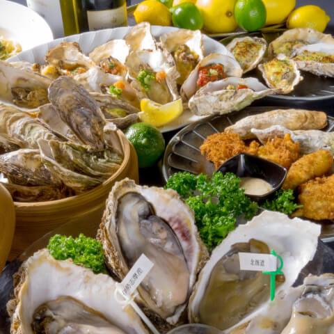 牡蠣&海老バル イーストブルー 池袋 東京 食べ放題 おすすめ