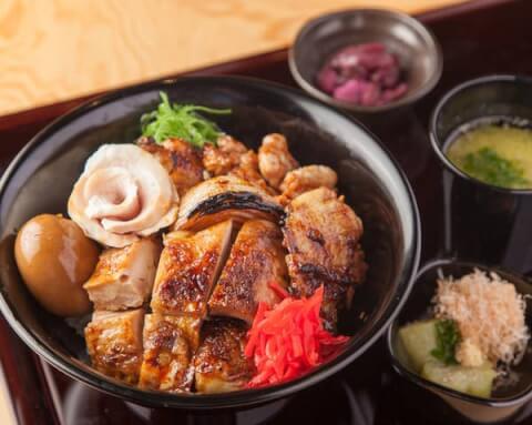 恵比寿ランチ 定食 東口 串焼きもんじろう 焼き鳥丼