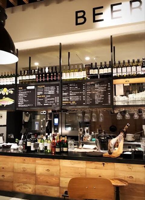 バー カフェコーナー EBISU FOOD HALL 恵比寿 レストラン おすすめ ランチ ディナー おしゃれ 女子会