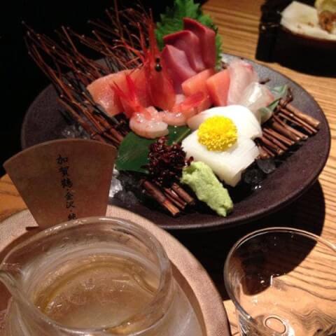 金沢 居酒屋 駅の蔵 刺身