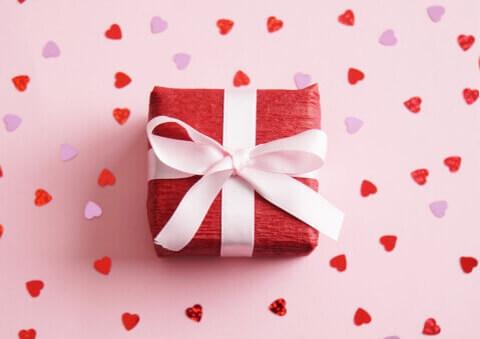ピンク-プレゼント