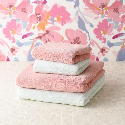 Francfranc フラフィーバスタオル ピンク