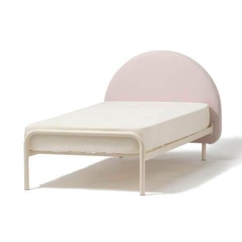 Francfranc 家具 ミニュイ ベッド シングル ピンク