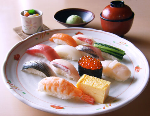福助の寿司ランチ