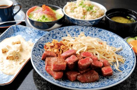 鉄板焼きステーキ あずま外苑前 ランチ 和食
