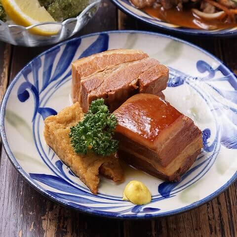 五反田 居酒屋  がんじゅう 沖縄料理 ラフテー