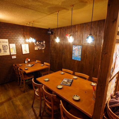 五反田 居酒屋  がんじゅう 沖縄料理 半個室 テーブル席