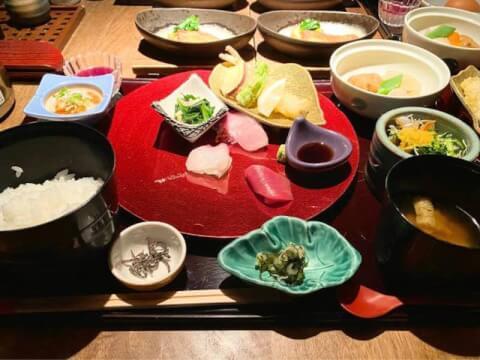 雅しゅとうとう 北新地 ランチ おすすめ 和食