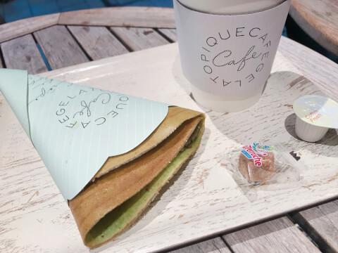 池袋カフェ gelato_piaue クレープ
