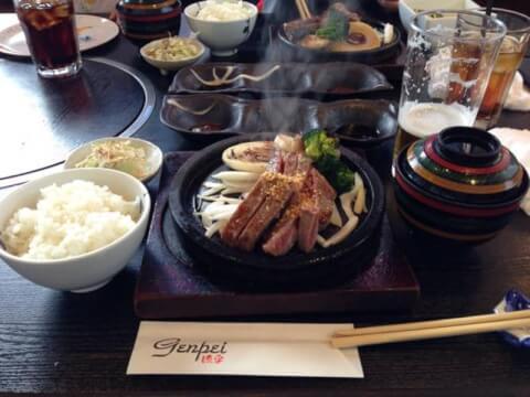 ステーキハウス genpei 淡路島 ランチ おすすめ ステーキ