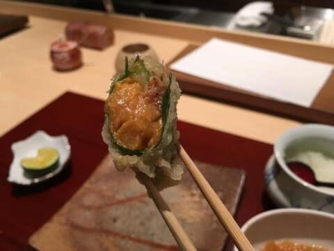 銀座のおしゃれで安い和食ディナー、個室つきで誕生日や記念日デートにおすすめの天ぷらおのでら