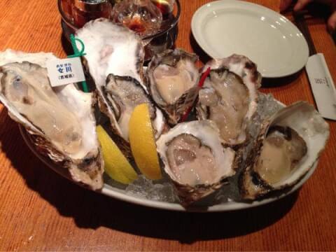 新宿 昼飲み ごまや おすすめ 人気 牡蠣