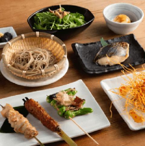 渋谷 ディナー 和食 権八 親子丼 そば