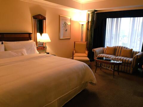 ホテル ベッド