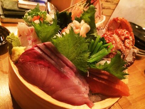魚屋豪腕 渋谷 居酒屋 センター街 おすすめ 和食 海鮮 魚介