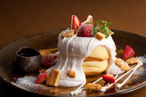 ベリーと果実のパンケーキ グランドアッシュ 池袋 パンケーキ おすすめ 東口 おしゃれ
