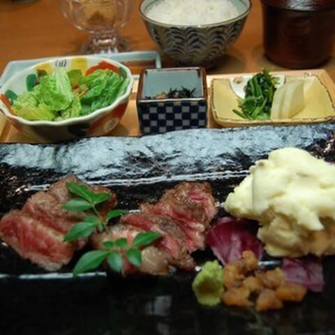 新宿 ディナー 栗吉 肉料理