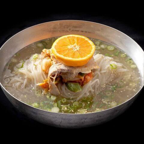 白雲台の冷麺