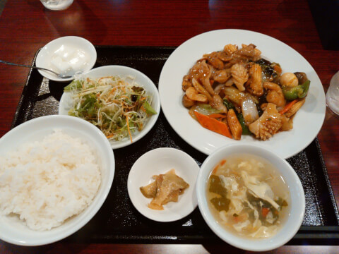 ueno-lunch-wangsan-happosai