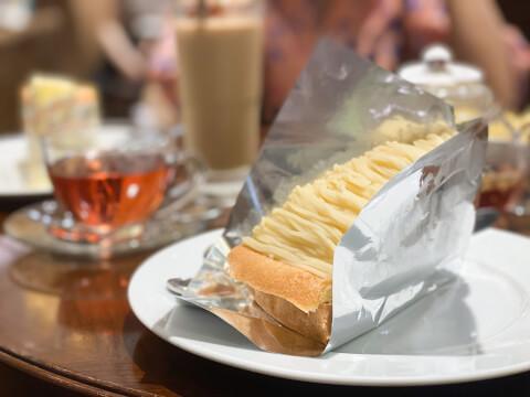 ハーブス ケーキ マロンタルト