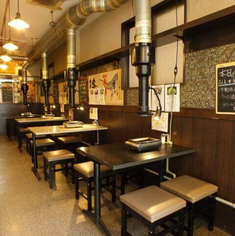 錦糸町の北口のおしゃれで安いおすすめ居酒屋、焼肉・ホルモン はし臓