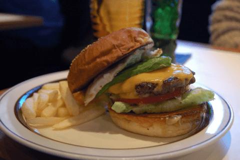 カフェホホカム-ハンバーガー