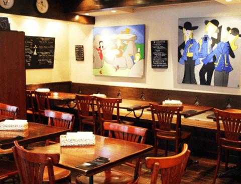 プレッツカフェ-店内