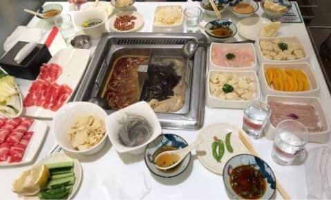 海底撈火鍋料理画像