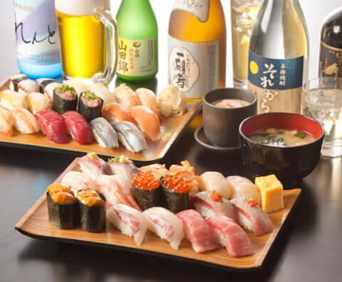 雛寿司の食べ放題