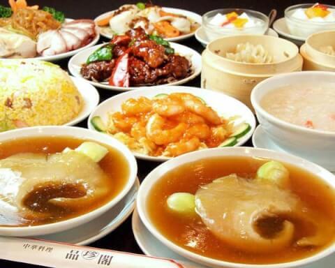 食べ放題 海老 品珍閣 横浜中華街 おすすめ ランチ