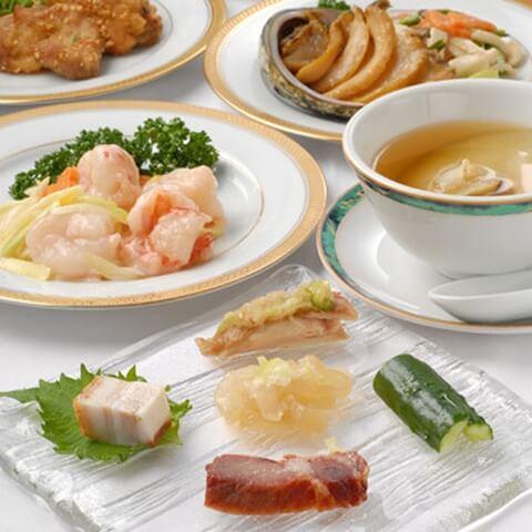 浜松町 ディナー 中華 シーフードレストラン 香港 点心 コース