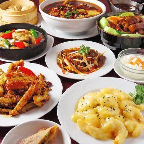香港亭の料理画像
