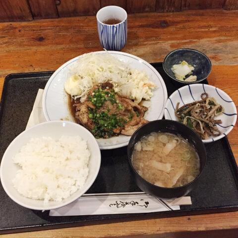 恵比寿ランチ 定食 西口 ほの字 料理