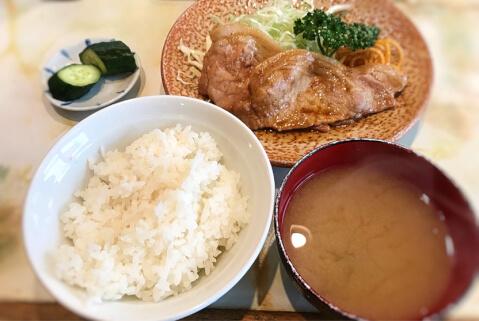 富士川食堂の料理