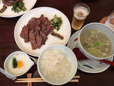 仙台でおすすめの牛タン、味の牛タン福助