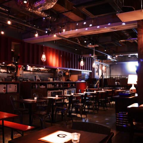 ハングアウトハングオーバー 渋谷 居酒屋 肉 アメリカンダイナー