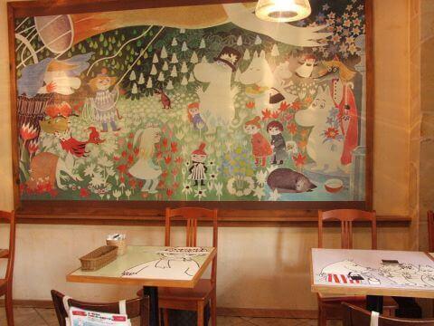 東京ドームシテ-ムーミンカフェ