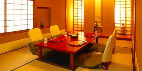 月亭 池袋 ディナー 和食 個室