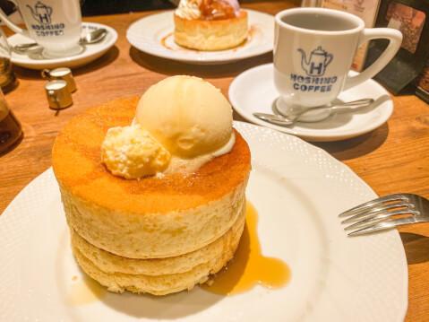 池袋 パンケーキ 星乃珈琲店 カフェ ハンドドリップコーヒー