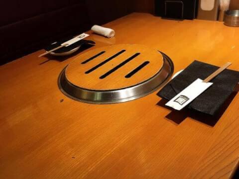池袋 おすすめ 焼肉 東口 黒5 テーブル
