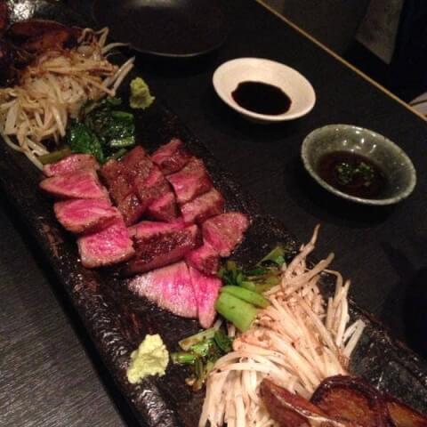 目黒 ディナー 和食 池田山 和牛ステーキ
