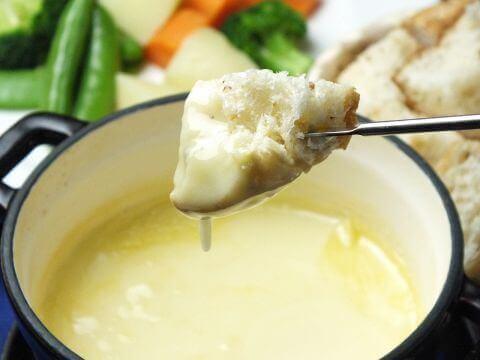 チーズフォンデュの写真