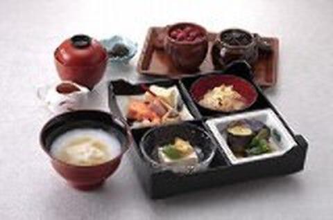 京の湯葉粥膳の写真