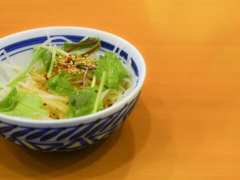 和風サラダの写真