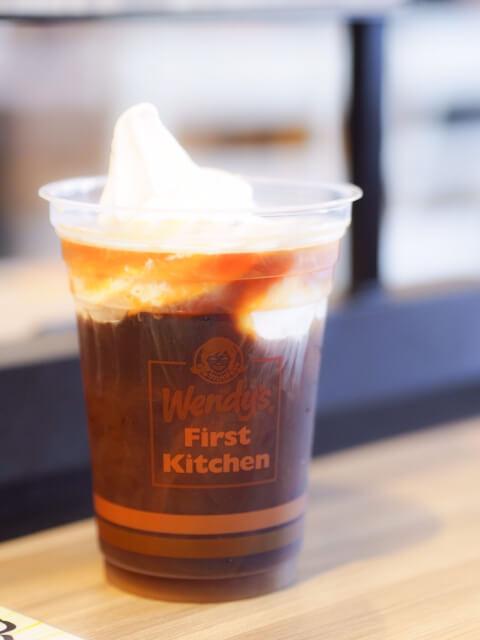 コーヒーフロートの写真