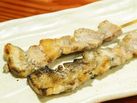 豚バラ串焼の写真