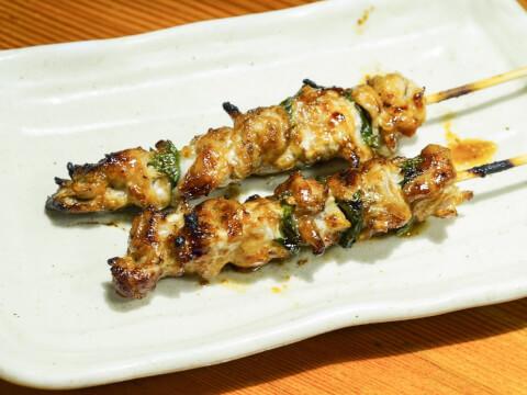鶏ハラミ味噌焼の写真